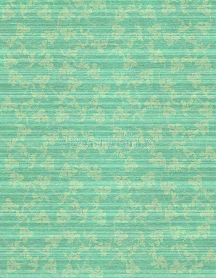 Free Sky Blue Faint Floral Print On Paper Background Stock Photo - 21096840