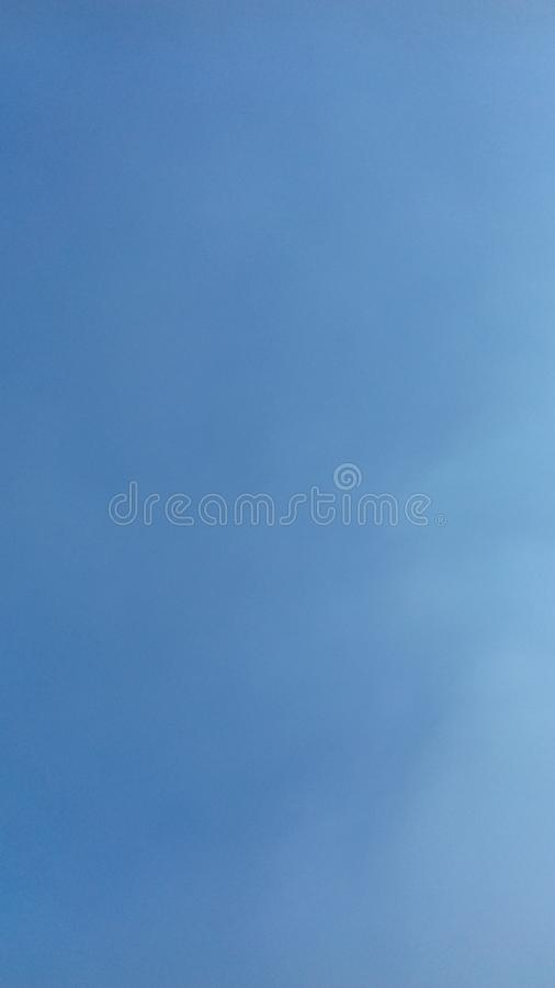 Sky blue lighting in day royalty free stock photo