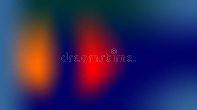 Sky blue orange red multicolor effects shaded background wallpaper. vivid vector illustration. stock illustration