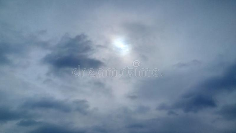 Sky Blue son and wonderful royalty free stock photo