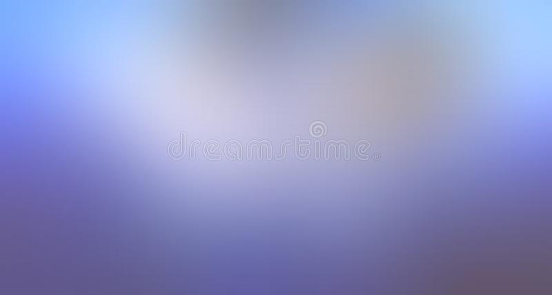 Sky blue and white pastel color shaded blur background wallpaper. royalty free illustration