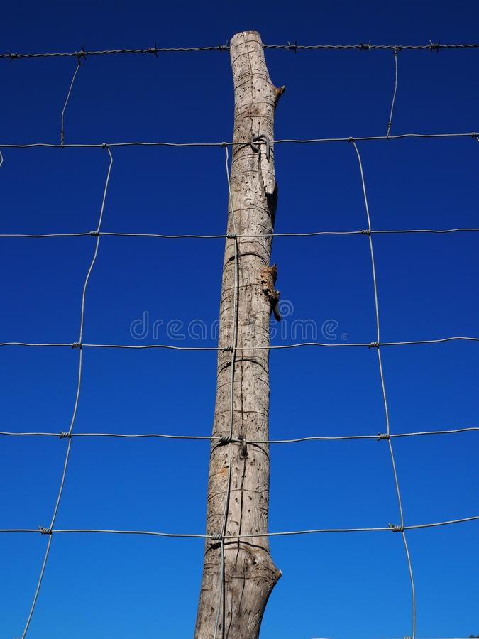 Sky, Blue, Wire Fencing, Electricity stock photography
