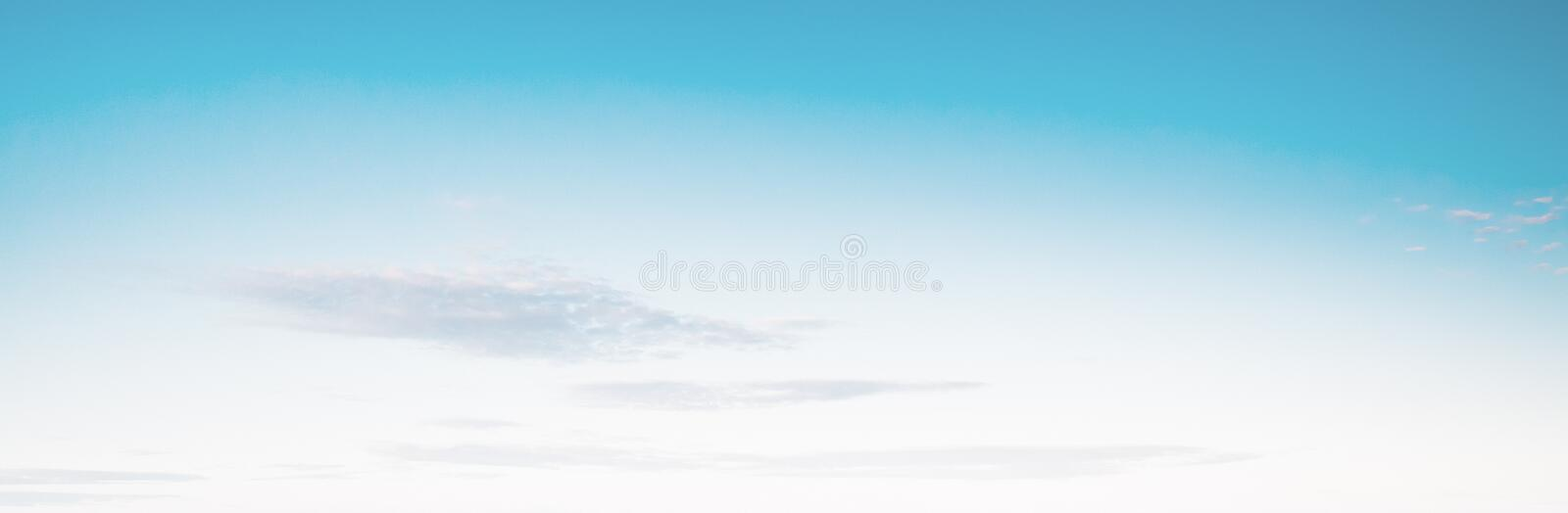 Sky bright pastel colors. Summer tropical background royalty free stock image