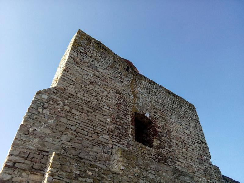 Sky, Building, Historic Site, Wall stock photo