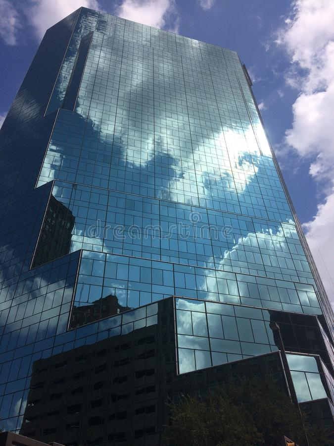 Sky, Building, Skyscraper, Reflection royalty free stock images