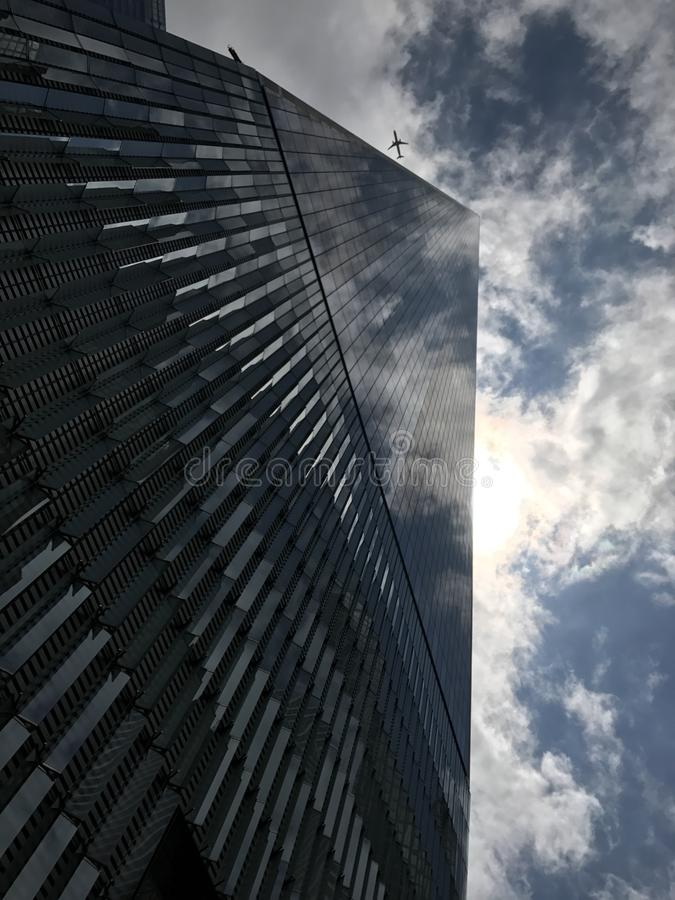 Sky, Building, Skyscraper, Reflection stock images