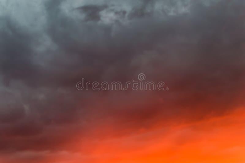 Sky burning,sunrise,sunset background.  royalty free stock photography