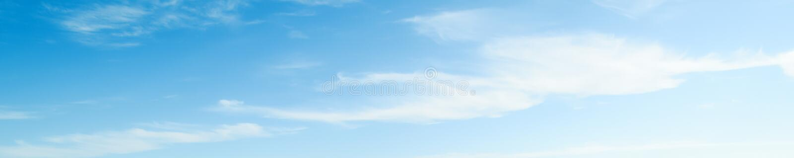 Sky clear beauty atmosphere summer day royalty free stock image