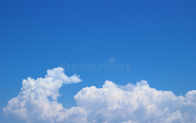 Sky and cloud background stock images