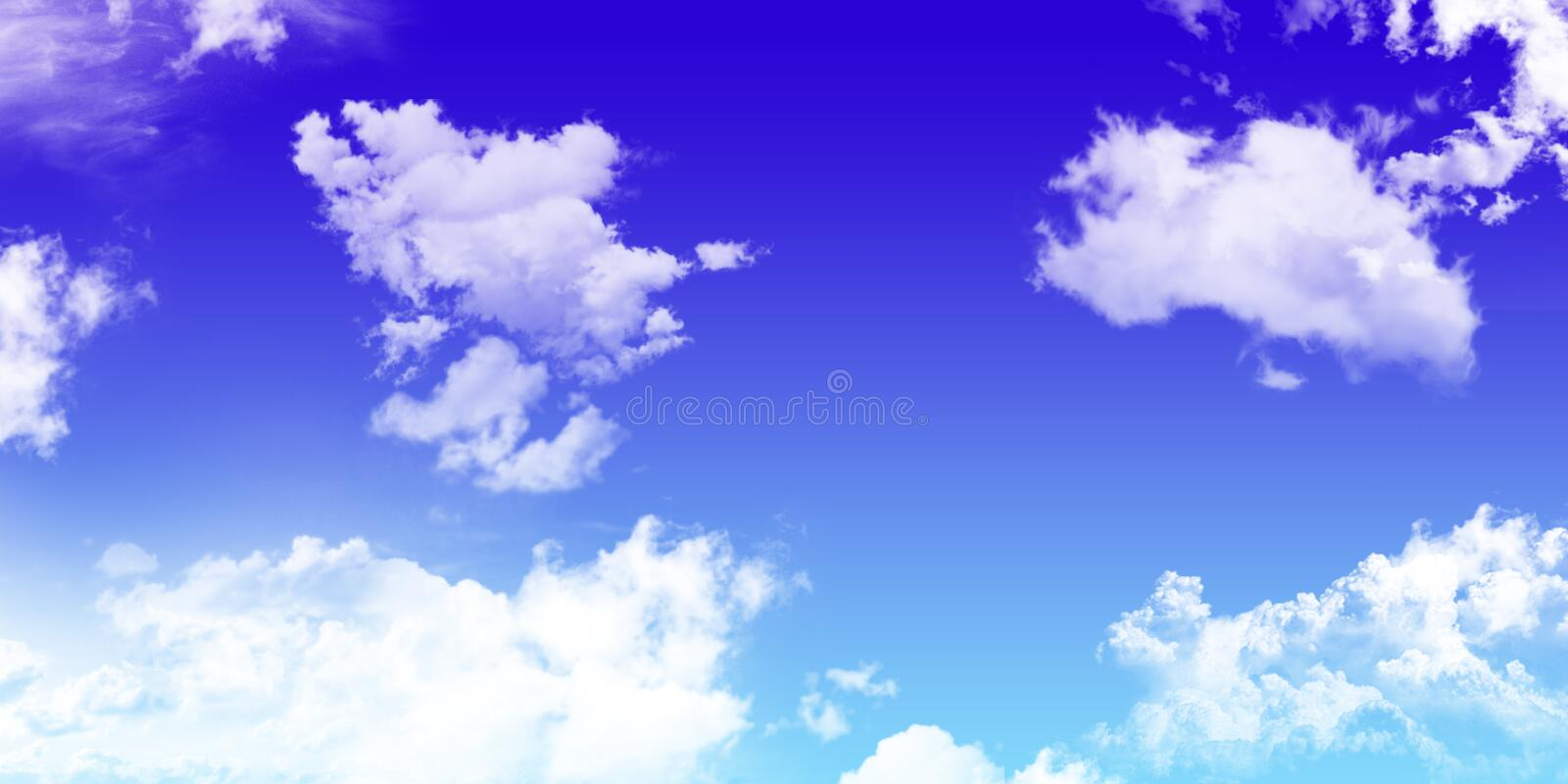Sky with cloud. background. natural texture of bright blue sky w royalty free stock image