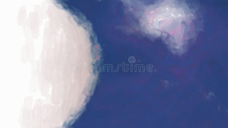 Sky Cloud Blue Background Beautiful elegant Illustration graphic art design Background. Image stock illustration