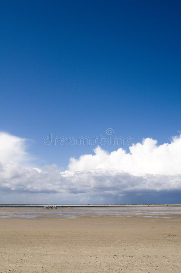 Sky with cloud royalty free stock image