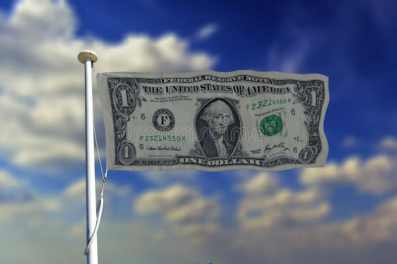Sky, Cloud, Daytime, Money royalty free stock photography