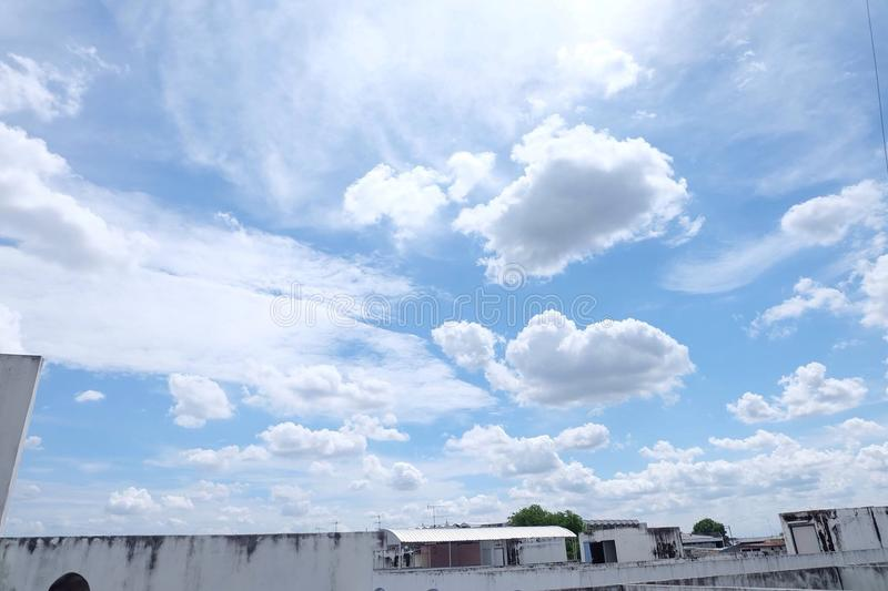Sky&Cloud royalty free stock photography