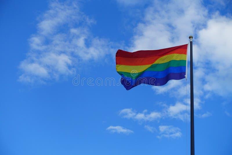 Sky, Cloud, Flag, Daytime stock image