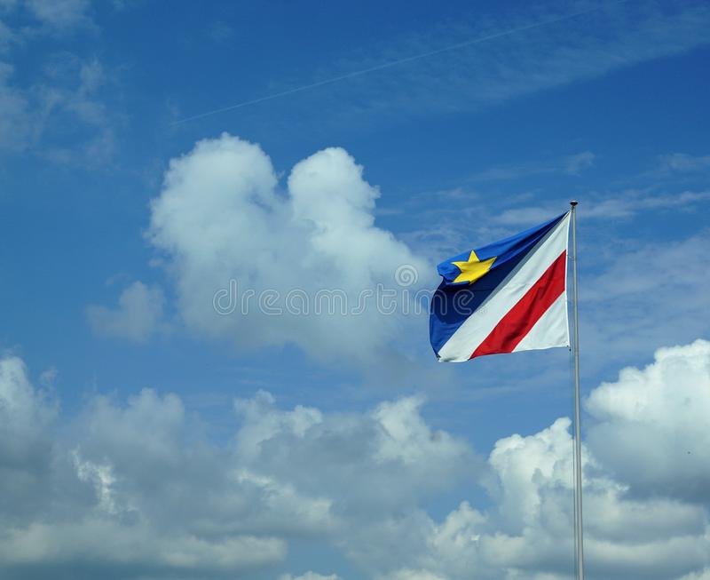 Sky, Cloud, Flag, Daytime stock images