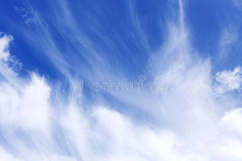 Sky and cloud ,Good weather day background. Sky and cloud ,Good weather day background royalty free stock photo