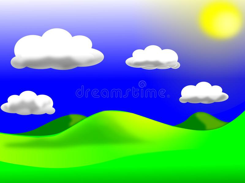 Sky, Cloud, Green, Daytime royalty free stock images