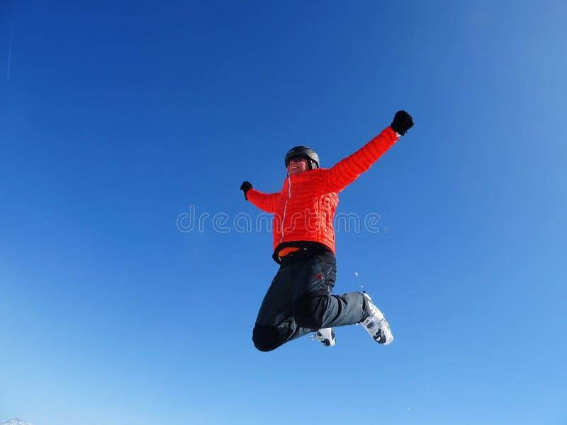 Sky, Cloud, Jumping, Fun royalty free stock image