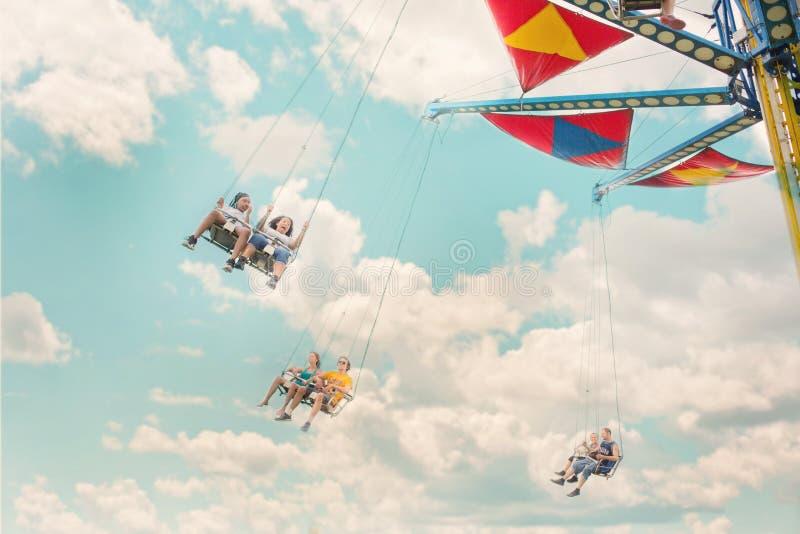 Sky, Cloud, Parachuting, Air Sports stock photography
