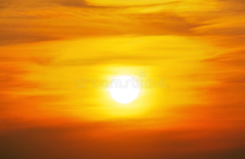 Sky with cloud at sunset background.  royalty free stock photos
