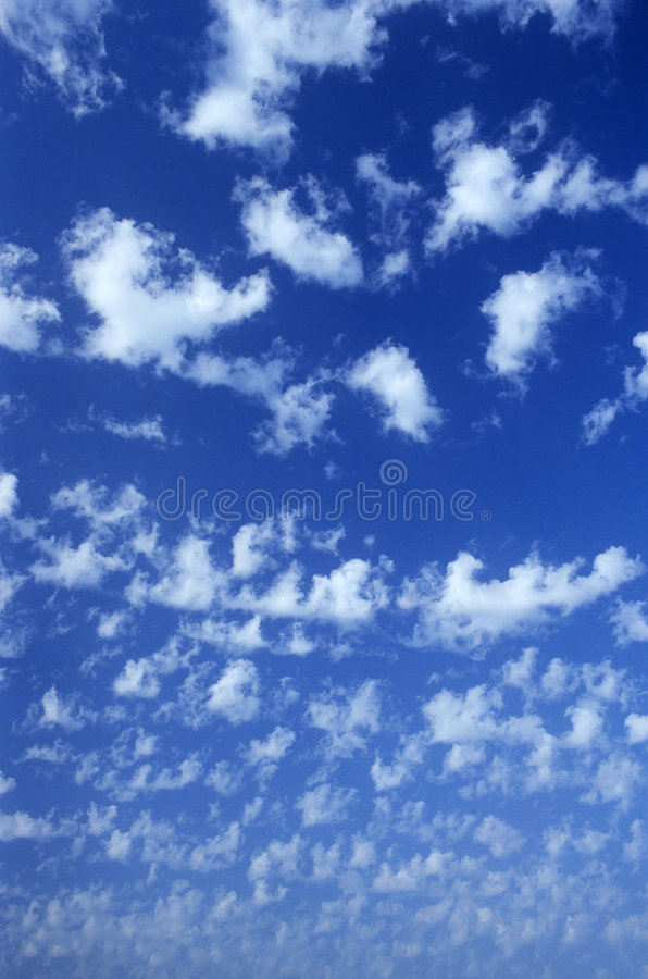 Sky & Clouds royalty free stock photo