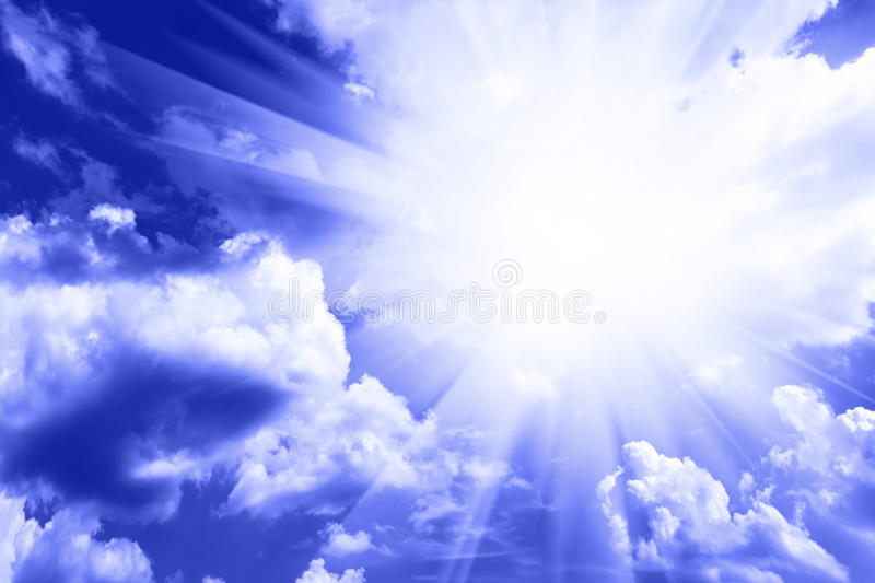 Download Sky and clouds stock image. Image of deep, heaven, background - 11065285