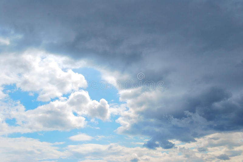 Download Sky and Clouds stock photo. Image of background, blue - 14290584