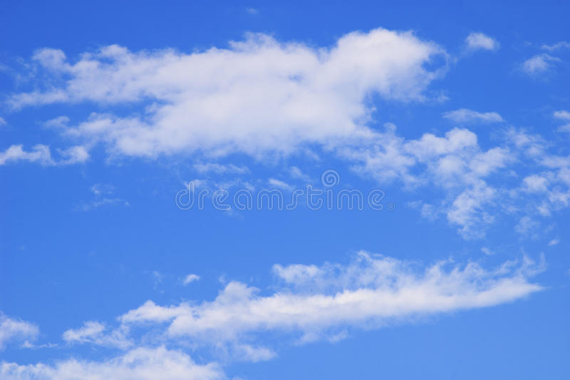 Sky and clouds. royalty free stock photography