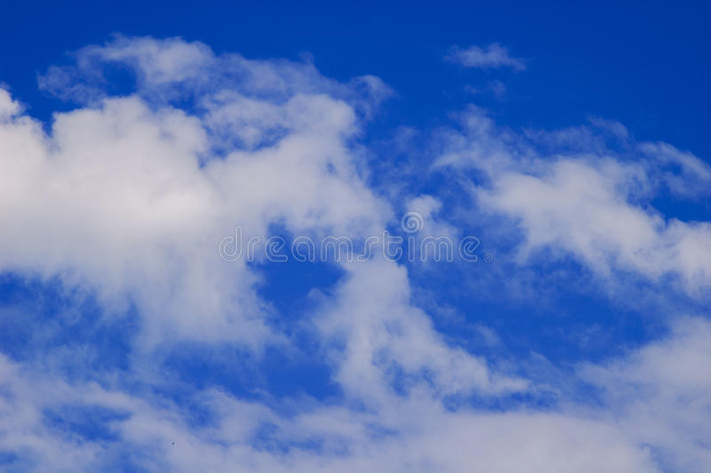 Sky and clouds. stock image