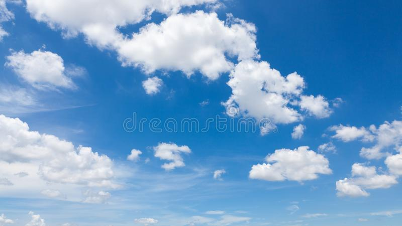 Sky clouds stock image