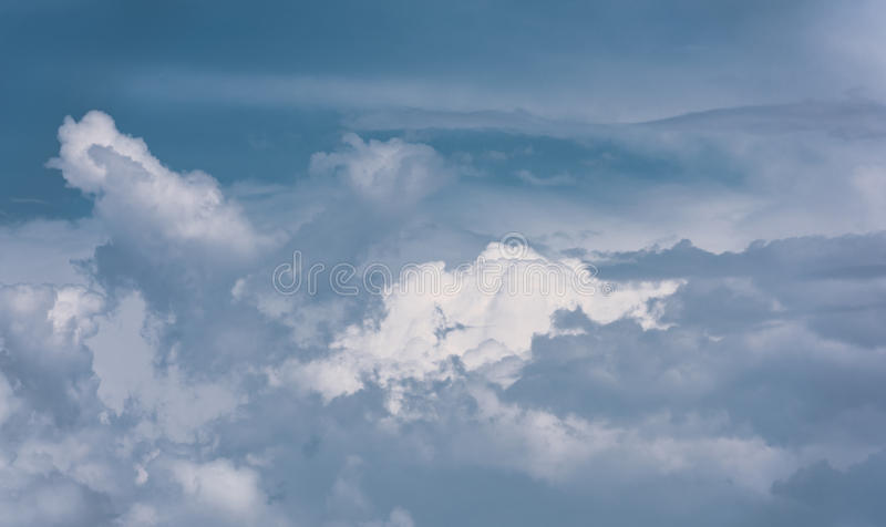 Sky clouds royalty free stock photo