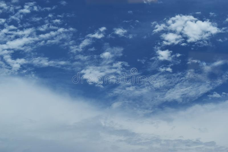 The sky on a cloudy day and empty space for web design or graphic art image. The sky on a cloudy day and empty space for web design or graphic art image royalty free stock photography