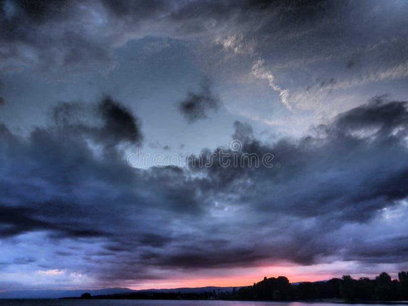 Sky& colorido x27; s imagen de archivo libre de regalías