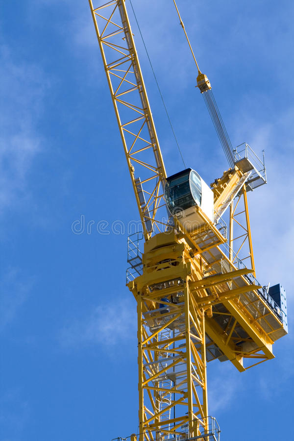 Free Sky Crane Royalty Free Stock Images - 13727239
