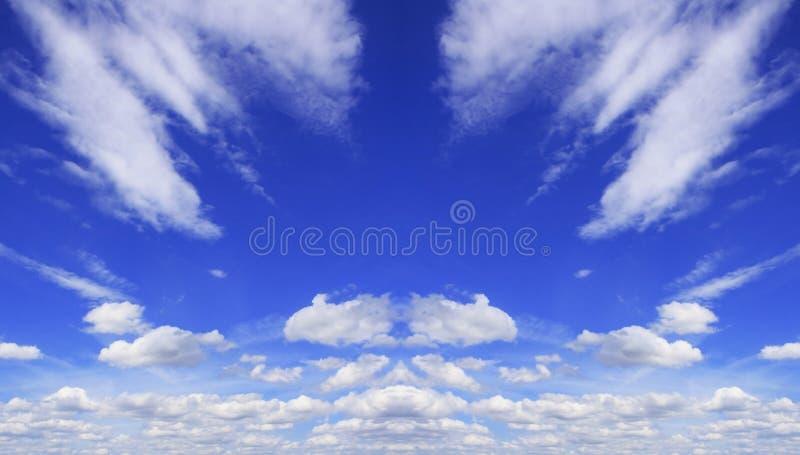 Sky daylight. Natural sky composition. Element of design. Sky daylight. Natural symmetrical sky composition. Element of design royalty free stock photos