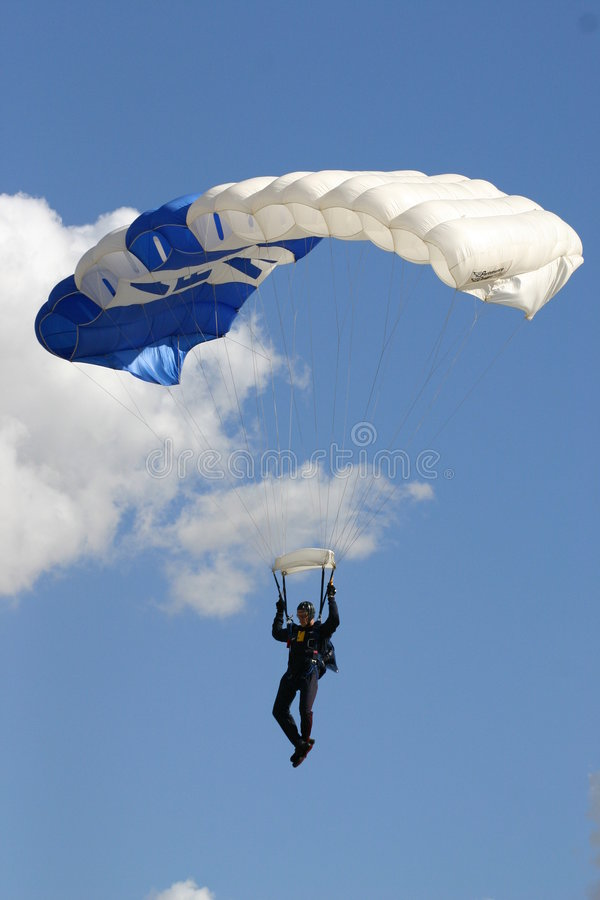 Sky Diver stock photos