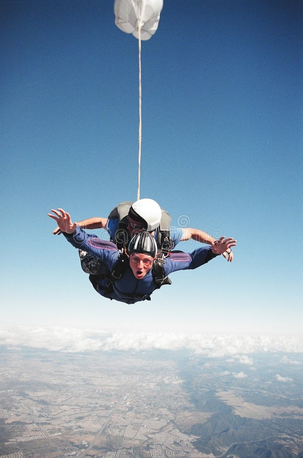 Free Sky Diving Thrill Stock Images - 6994954