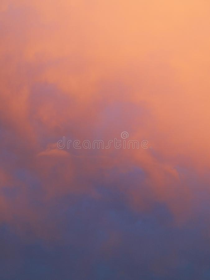 Sky at dusk royalty free stock photo