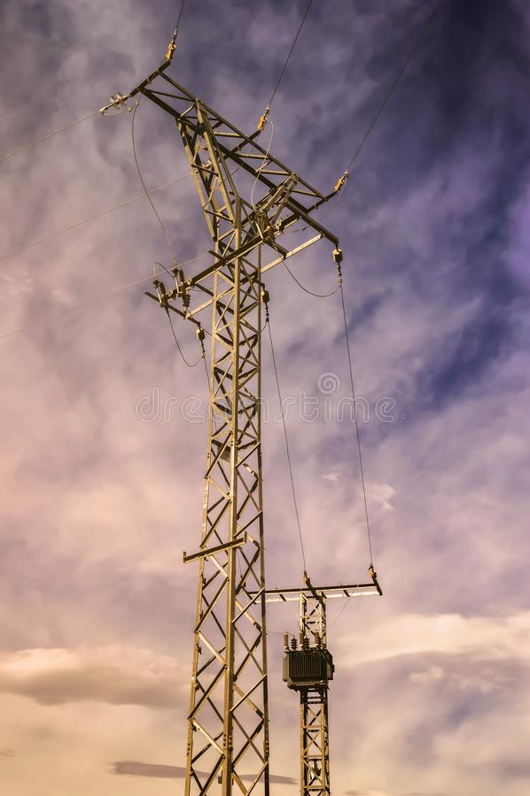 Sky, Electricity, Cloud, Overhead Power Line Free Public Domain Cc0 Image