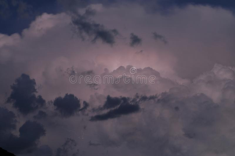 Download Dark Storm Clouds stock image. Image of filled, clouds - 101901017