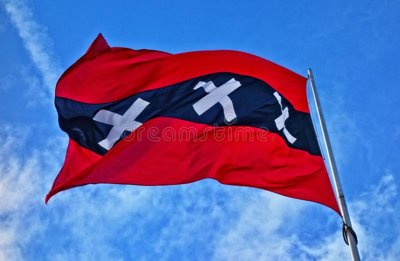 Sky, Flag, Wind, Cloud Free Public Domain Cc0 Image