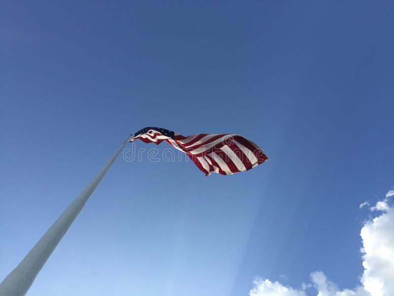 Sky, Flag, Wind, Daytime stock image