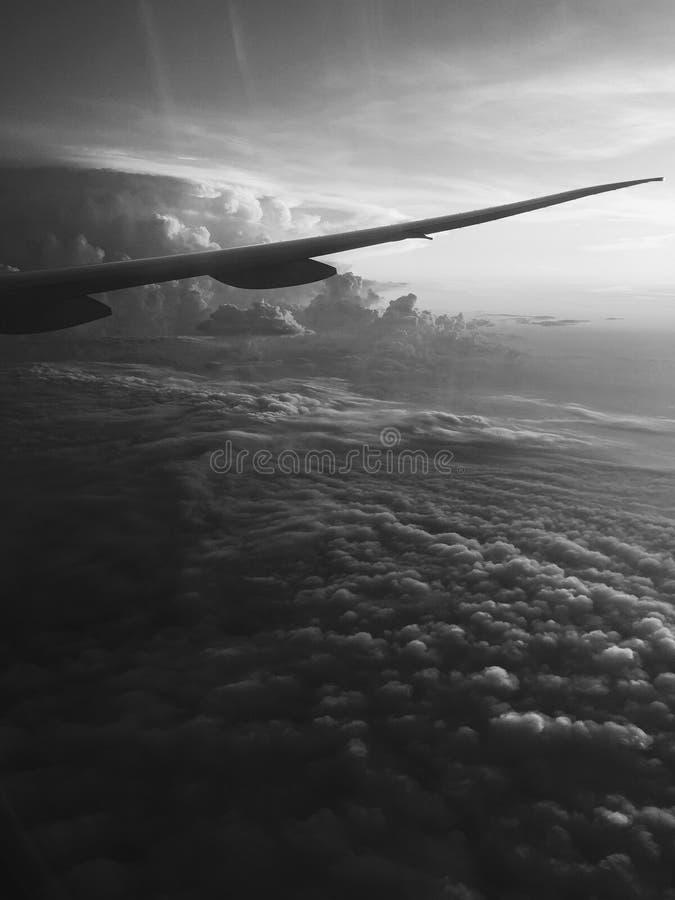 Sky fly royalty free stock photography