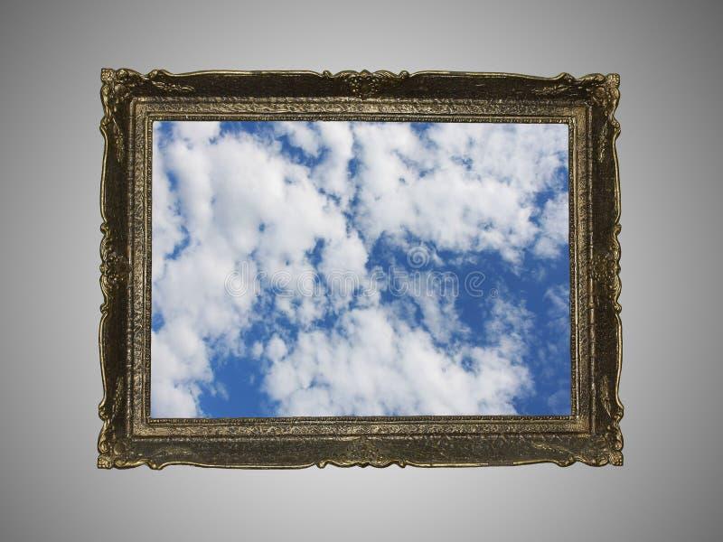 Sky frame concept stock photo