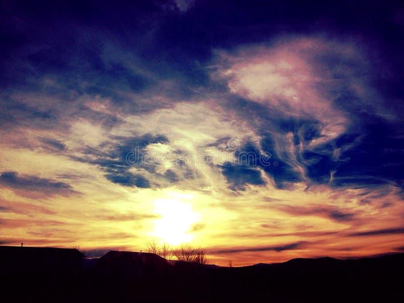 Sky Gazing stock photography