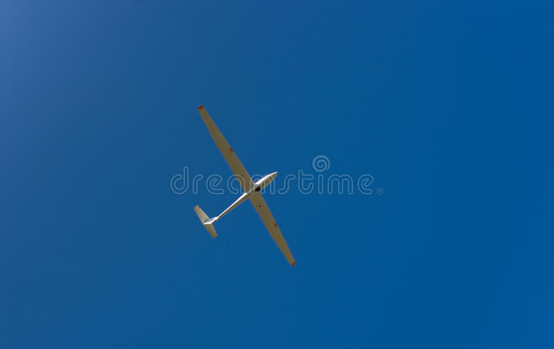 Sky gliding royalty free stock photos