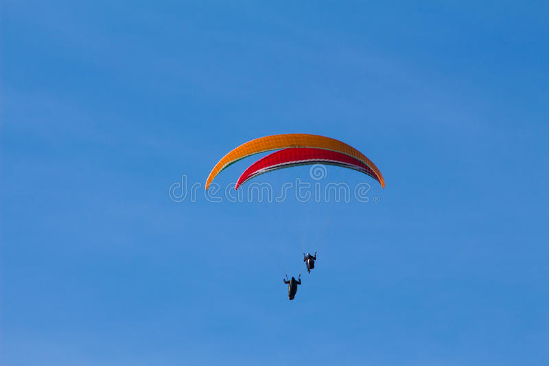 Sky gliding royalty free stock images