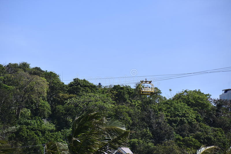 Sky Gondola. This is the sky gondola which is located at Fairways and Bluewater stock photography