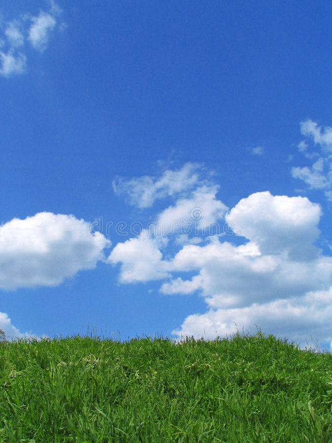 Download Sky and grass stock image. Image of mountain, grass, grasses - 150217